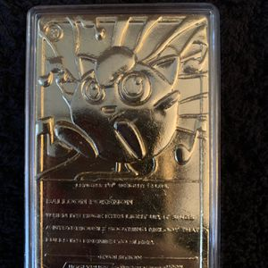 Pokemon Set of 4 Gold Plated Cards for Sale in Ballston Spa, NY