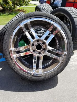 22in rims with tires for Sale in Everett, WA