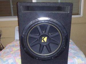 Kicker Subwoofer Twelve for Sale in Ontario, CA