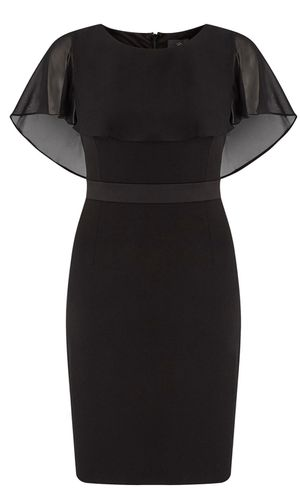 Brand new Adrianna Papell Size 16 Crepe Capelet Sheath Dress, Black (pick up only) Please don't bother giving ridiculous offers. for Sale in Alexandria, VA