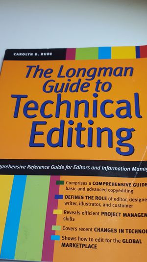 Guide to Technical Editing for Sale in West Columbia, SC