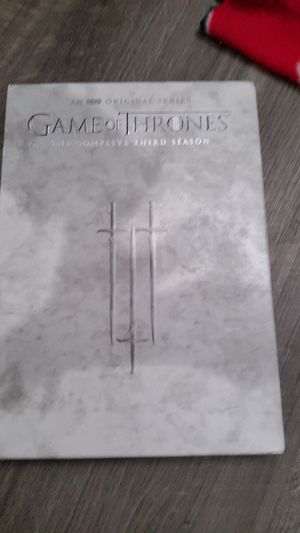 Game of thrones. The complete third season for Sale in Tacoma, WA
