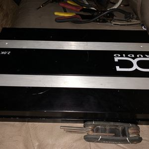 Dc Audio 2000 Watt Amp for Sale in Mountlake Terrace, WA