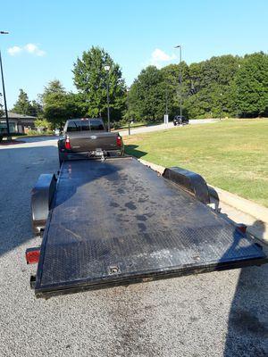 P&t 2014 20ft trailer car trailer for Sale in McDonough, GA