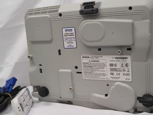 EPSON (H577A) PowerLite 98 3LCD Projector - With Remote Adapter And Cable 128H for Sale in The Bronx, NY