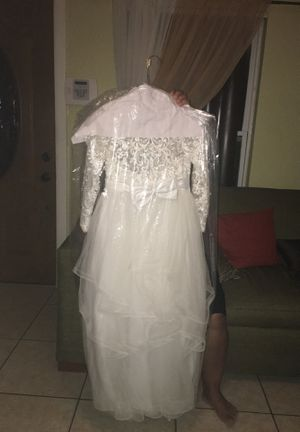 Dress for 90$ size 12 great condition for first communion for Sale in Orlando, FL