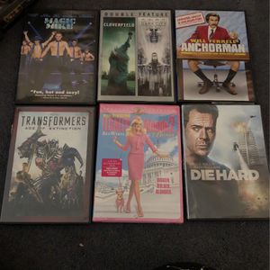 Random DVDs for Sale in San Diego, CA
