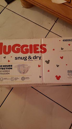 Huggied Snug & Dry size 3 &4 $18 each for Sale in Miami Gardens, FL
