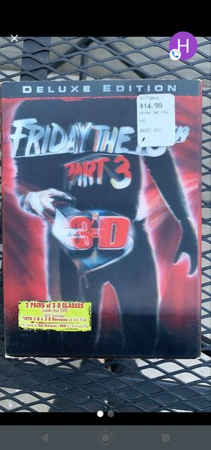 Friday the 13th part 3 for Sale in Downey, CA