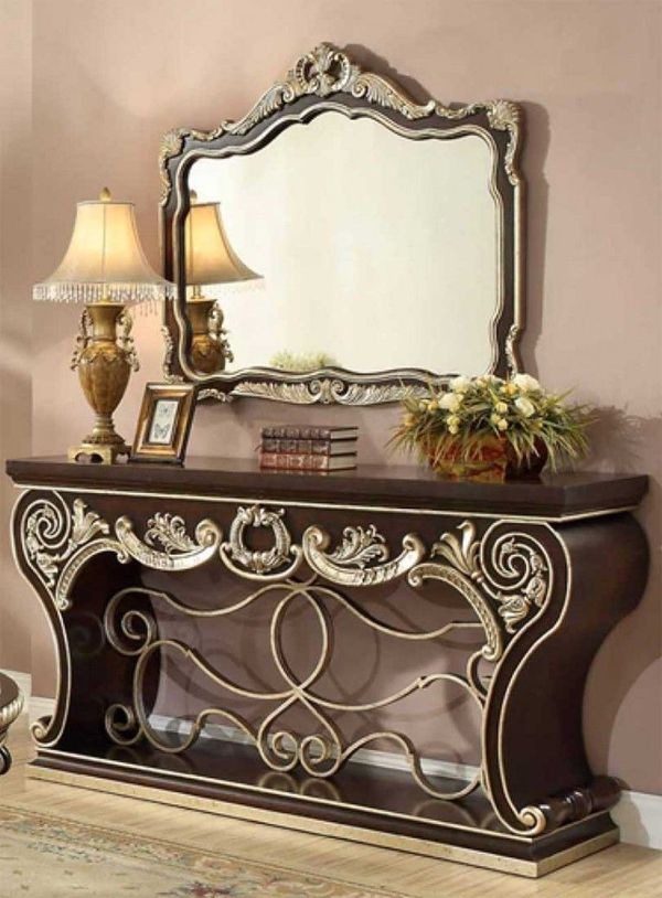 Console table with mirror on sale only at elegant Furniture 🛋🎈