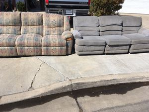 Free couches for Sale in Fresno, CA