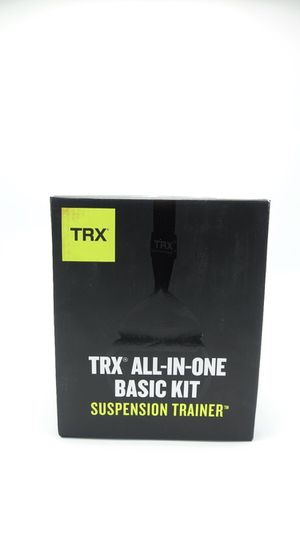 TRX Training - Suspension Trainer Basic Kit + Door Anchor, Complete Full Body Workouts Kit for Home and on the Road for Sale in Newcastle, WA