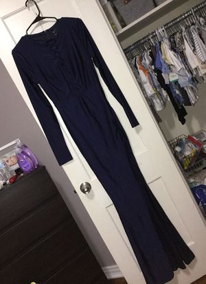 Navy blue homecoming, wedding, prom, etc. Dress for Sale in Dallas, TX