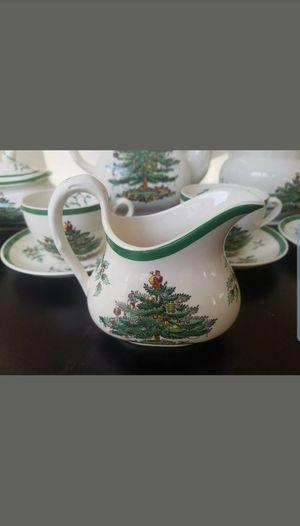 New Spode Christmas 14 Piece Tea Set for Sale in Boca Raton, FL