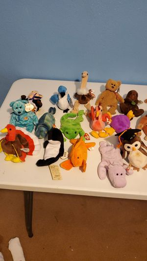 Beanie babies collection for Sale in Stockton, CA