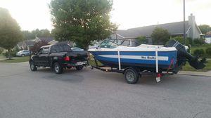 Nice ski boat 150 hp for Sale in Akron, OH