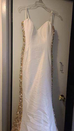 Jovani sz 12 natural wedding dress for Sale in Artesia, CA