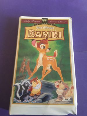 Bambi VHS tape for Sale in Kent, WA