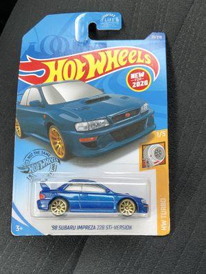 Hotwheels 98 Subaru Impreza 22B STI for Sale in SIENNA PLANT, TX