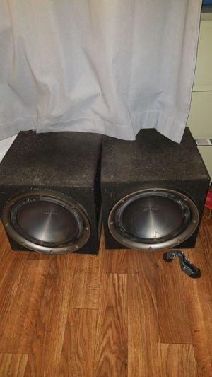 Kenwood Speakers 2 12s for Sale in Los Angeles, CA