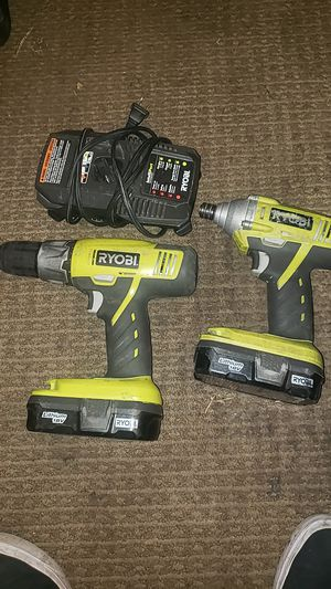 Ryobi drill set for Sale in Orange, CA
