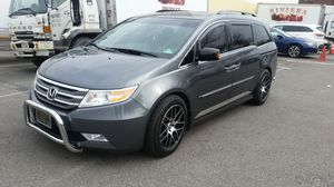 "19"" black and polished rims with tires for Sale in Union City, NJ"