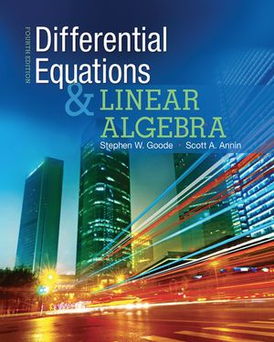 Differential Equation and Linear Algebra by Goode [pdf/eBook] - $15 for Sale in Orange, CA