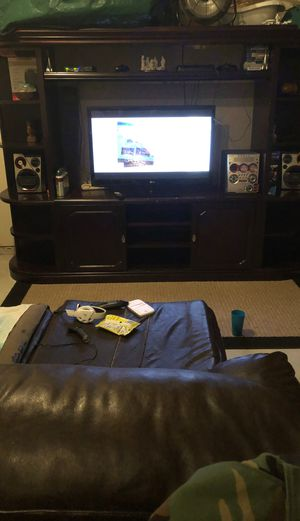 Wood Entertainment Center for Sale in McDonough, GA