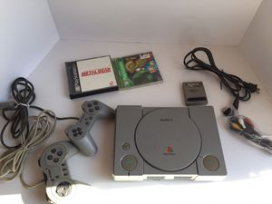Playstation 1 Complete with games for Sale in Birdsboro, PA