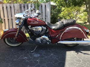 2015 Chief Indian Classic for Sale in South Miami Heights, FL