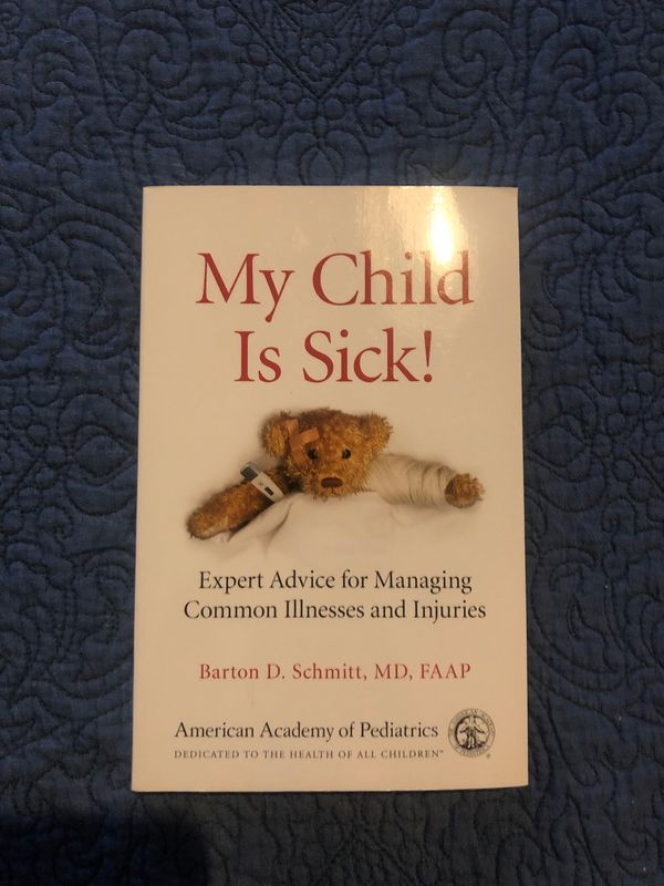 New: My Child is sick! Book by American Academy of Pediatrics