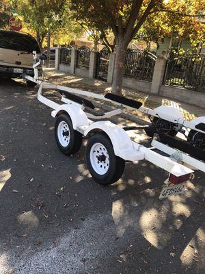 04 tandem trailer clean pink fresh PTI for Sale in Stockton, CA