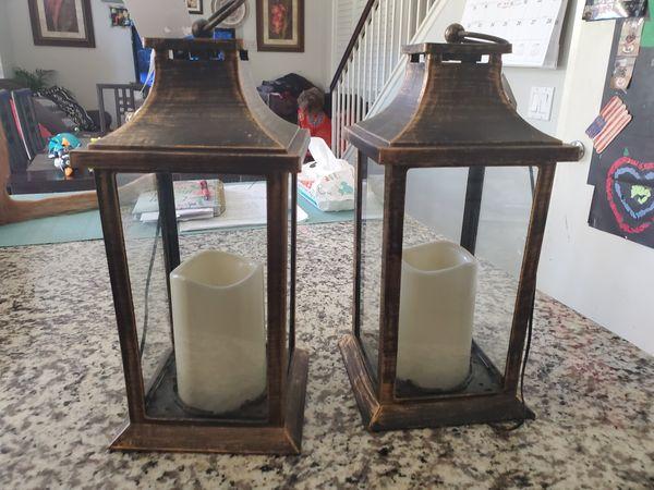 2 lanterns. Both for $10