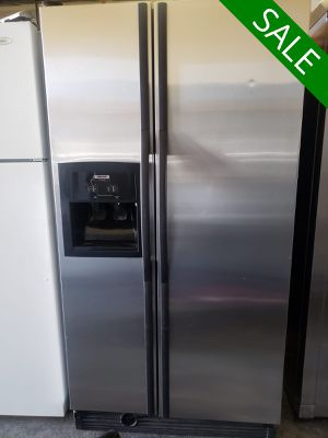💥💥💥Whirlpool FIRST COME!! Refrigerator Fridge Side by Side #1485💥💥💥 for Sale in Riverside, CA