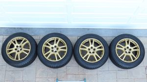 Subaru WRX STI Rims and Michelin Pilot Sport Tires for Sale in Los Angeles, CA