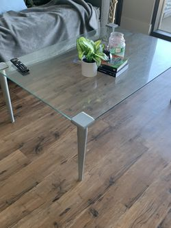 Glass Coffee Table for Sale in Denver,  CO