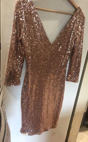 Cals Sequin Pink Dress for Sale in Norco, CA