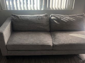 Gray Living Spaces Couch for Sale in San Diego, CA