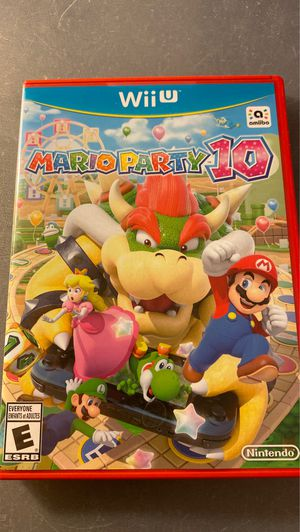 Mario party 10 nintendo wii u for Sale in Anaheim, CA