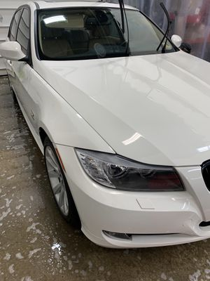 2011 White BMW 321xi AWD for Sale in Reston, VA