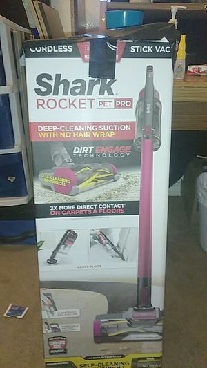 shark pet pro cordless vacuum for Sale in Rancho Cucamonga, CA