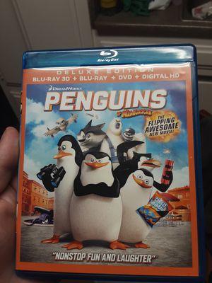 DreamWorks penguin of Madagascar Blu-ray movie for Sale in Santa Ana, CA