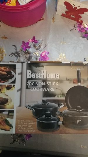 Best Home 7pc Non-Stick Cookware for Sale in Santa Ana, CA