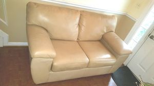 Lazboy Top Grain Leather set with 3 piece matching coffee Table set for Sale in Westlake, MD