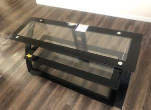 LUXURY GLASS STAND FOR TV for Sale in Phoenix, AZ