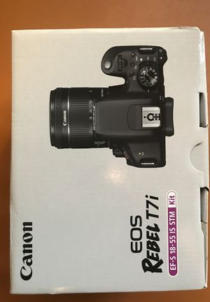 Canon EOS Rebel T7i for Sale in Beverly Hills, CA