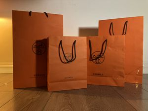 Hermes shopping bags (four) for Sale in Monterey Park, CA