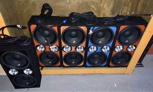 Chuchero completely Sz 10 massive audio for Sale in Fullerton, PA