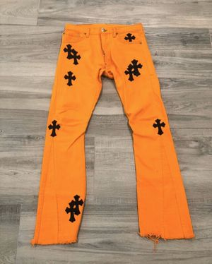 Chrome Hearts x Off white Art Basel Jeans for Sale in Los Angeles, CA