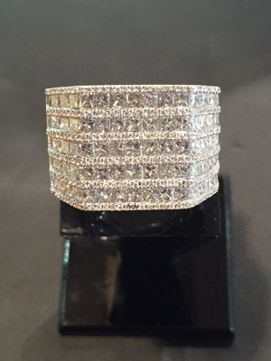 14kt w/g ring. 10cts total weight. 5k. for Sale in Scottsdale, AZ